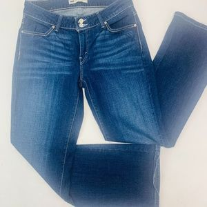 Levis 529 Womens Jeans 10M Blue Curvy Boot Cut